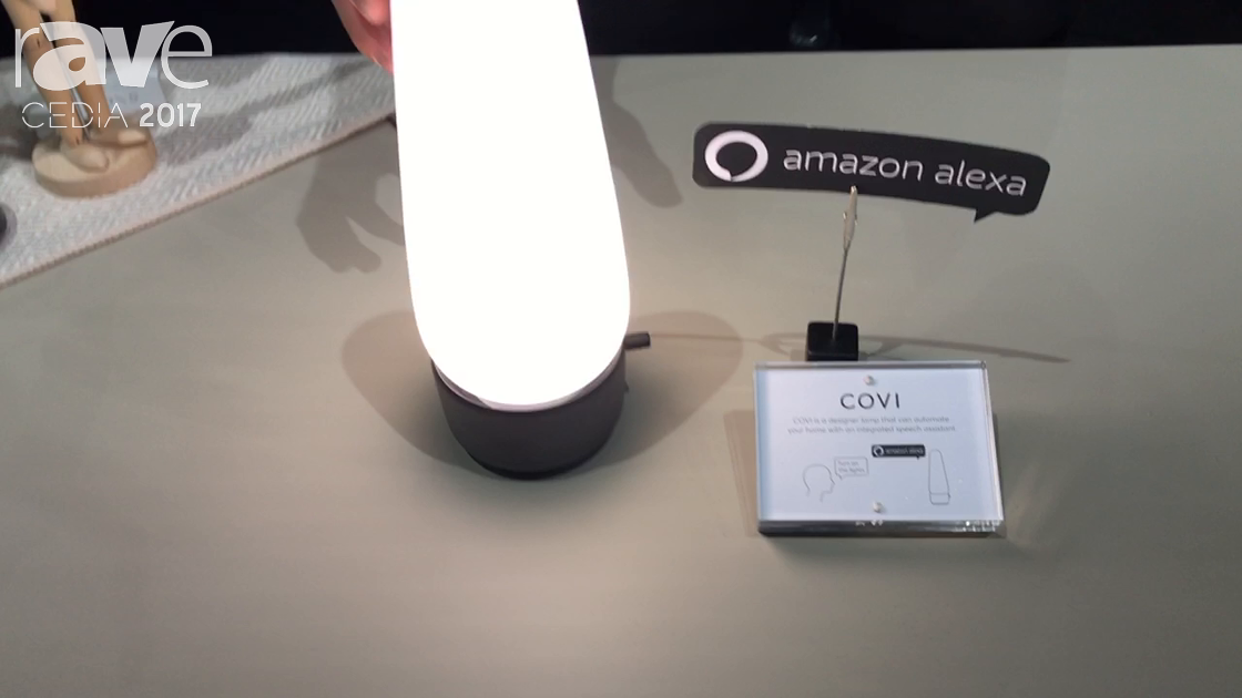 CEDIA 2017: Senic Displays COVI Smart Lamp