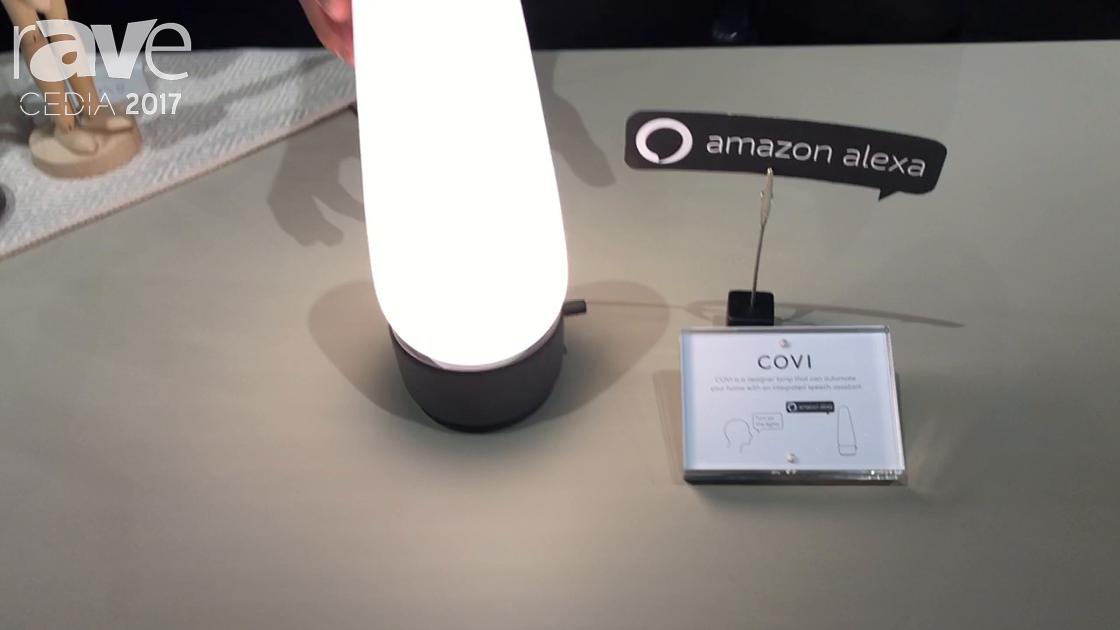 CEDIA 2017: Senic Displays COVI Smart Lamp