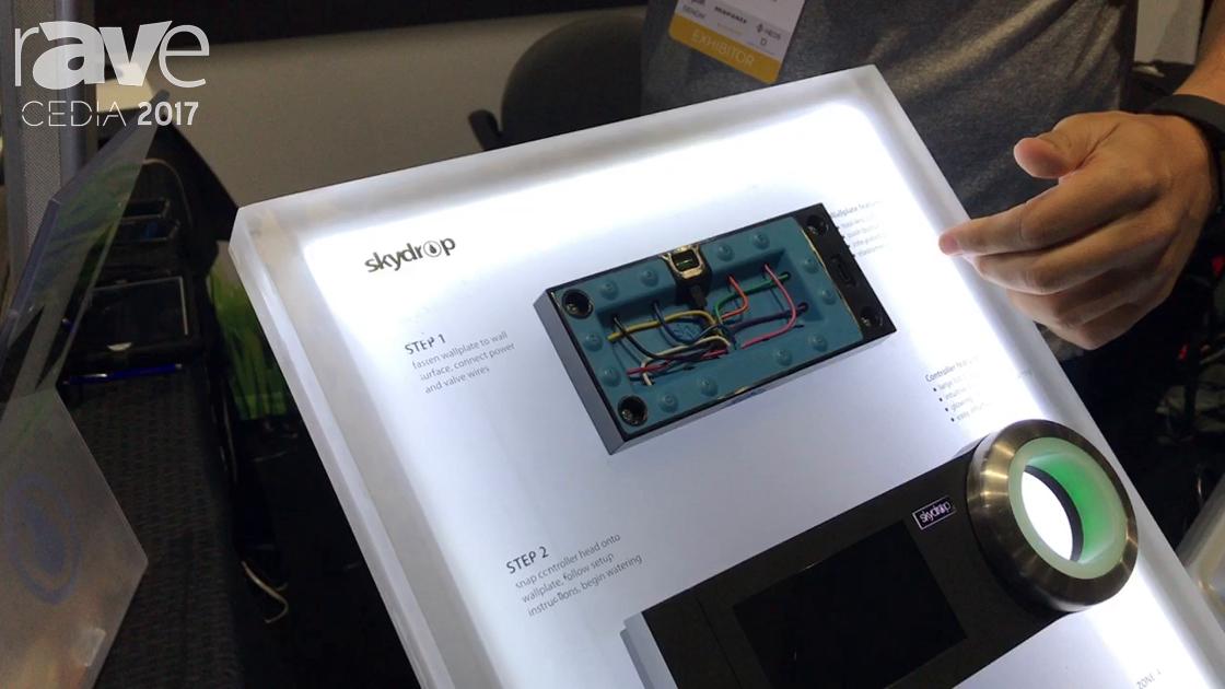 CEDIA 2017: Skydrop Shows Off SDCRW1.0 Halo Sprinkler Controller