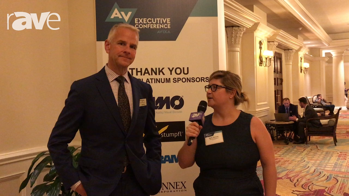 AVEC 2017: Sara Abrons Interviews David Labuskes, CEO of AVIXA