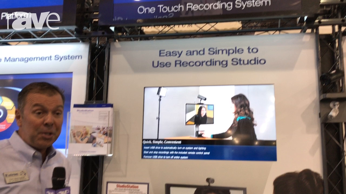 Educause 2017: Extron Presents StudioStation, a One Touch Recording Systmem