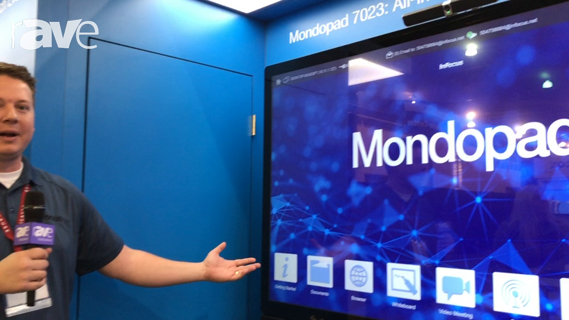 Educause 2017: InFocus Shows INF7023 Mondopad, a 4K All-in-One Touchscreen Collaboration System