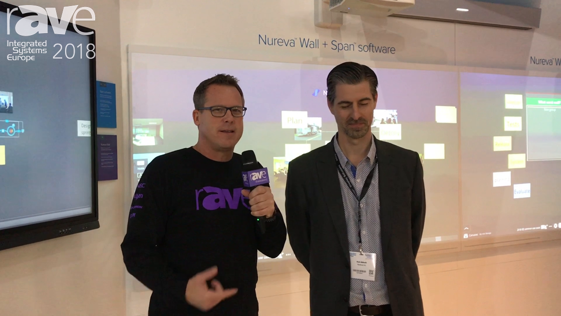 ISE 2018: Gary Kayye Talks to Rob Abbott of Nureva About the Nureva Wall and Span Software