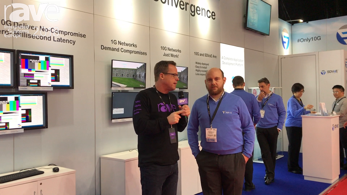 ISE 2018: Gary Kayye Interviews SDVoE Alliance President Justin Kennington