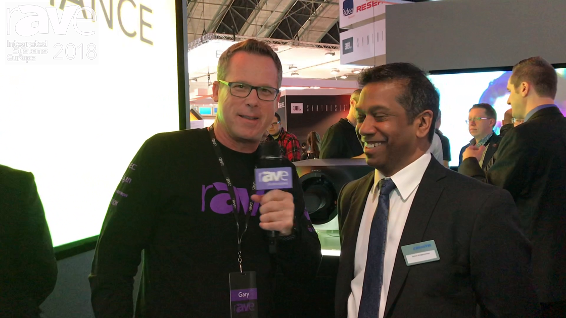 ISE 2018: Gary Kayye Talks to Christie's Jeevan Vivegananthan About The Company's Innovative Stand