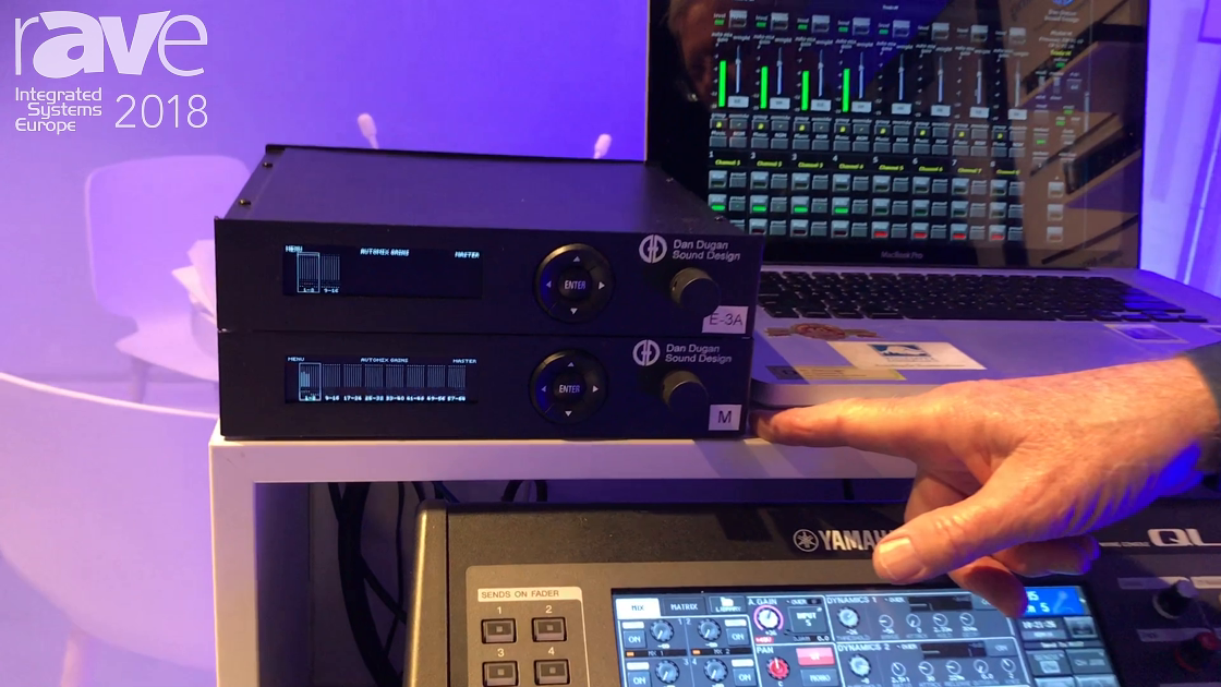 ISE 2018: Dan Dugan Sound Design Intros Model M and Model N Automatic Mixers With Dante