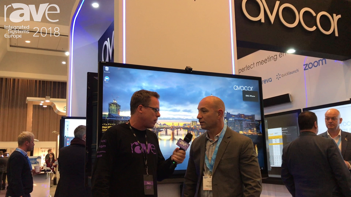 ISE 2018: Dana Corey of Avocor and Gary Kayye Talk Collaboration