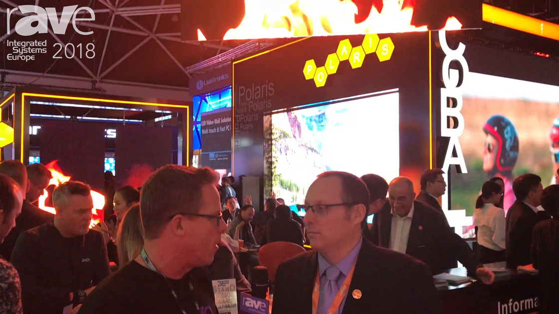 ISE 2018: Gary Kayye Gets a Tour of the Absen Stand from Paul Johnston