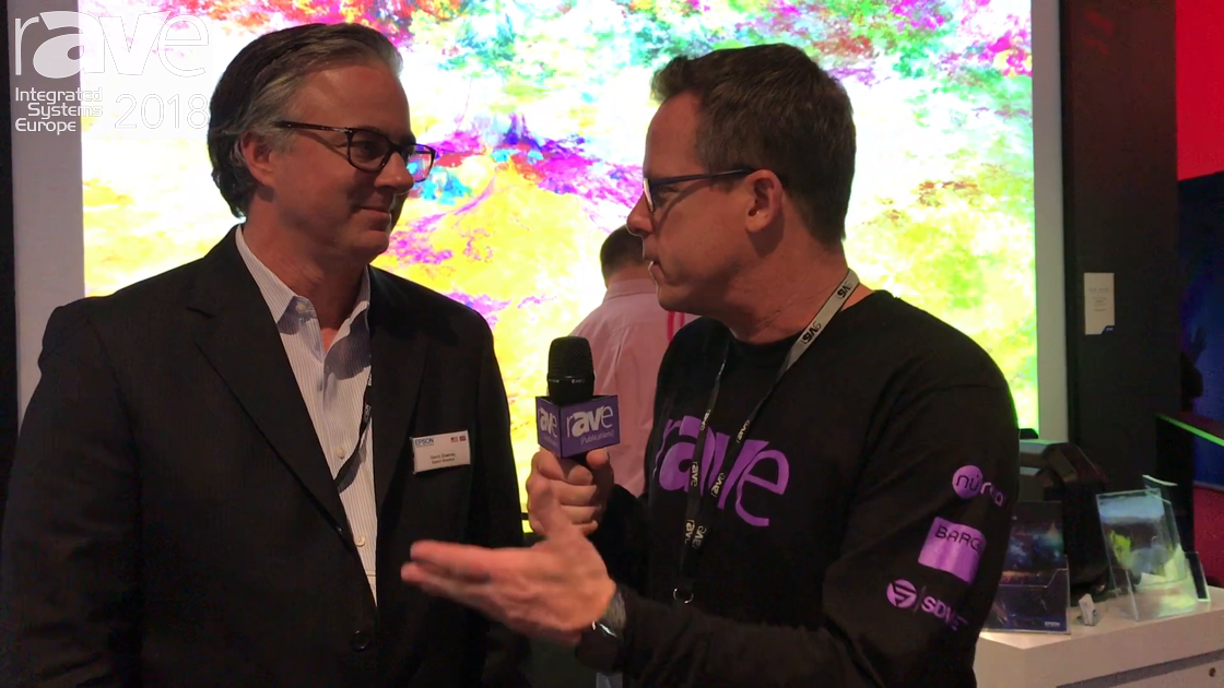 ISE 2018: Gary Kayye Speaks With Gavin Downey of Epson