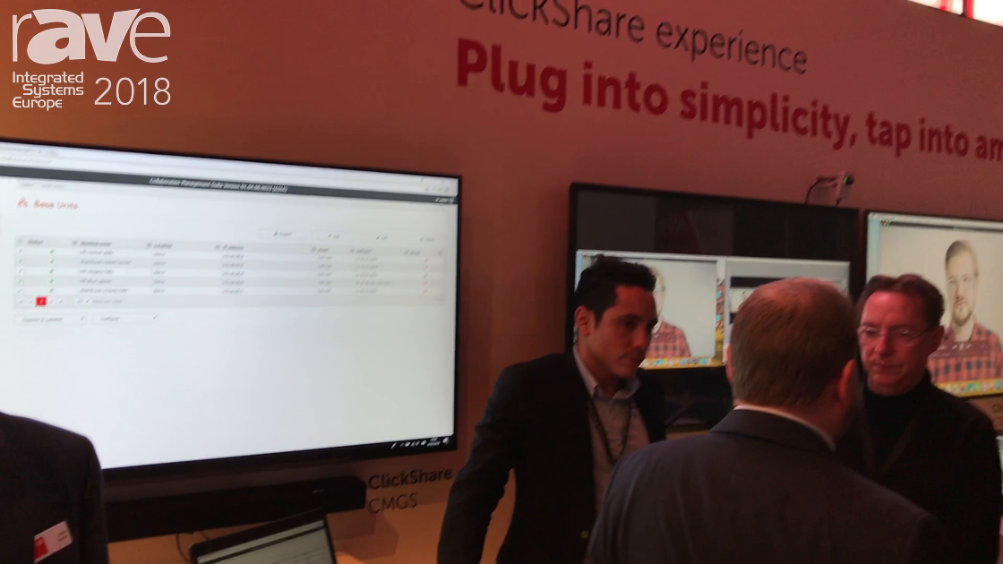 ISE 2018: Barco Celebrates Sharing With Five Years of ClickShare