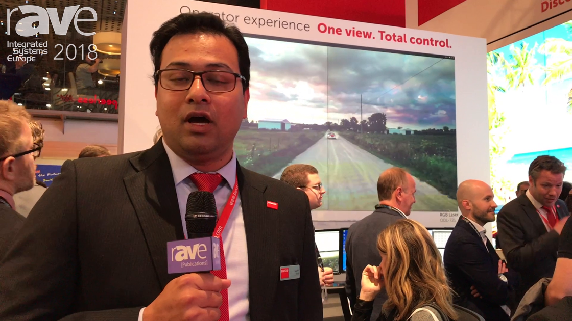 ISE 2018: Barco's Director of Global Strategic Marketing Suchit Rout Unveils UniSee, RGB Laser, OCS Media Platform, OpSpace for Control Rooms