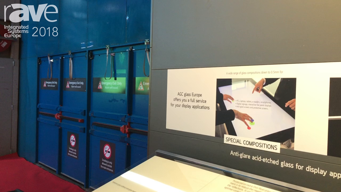 ISE 2018: AGC Glass Company Showcases Its Anti-Glare and Anti-Sparkling Glass Products