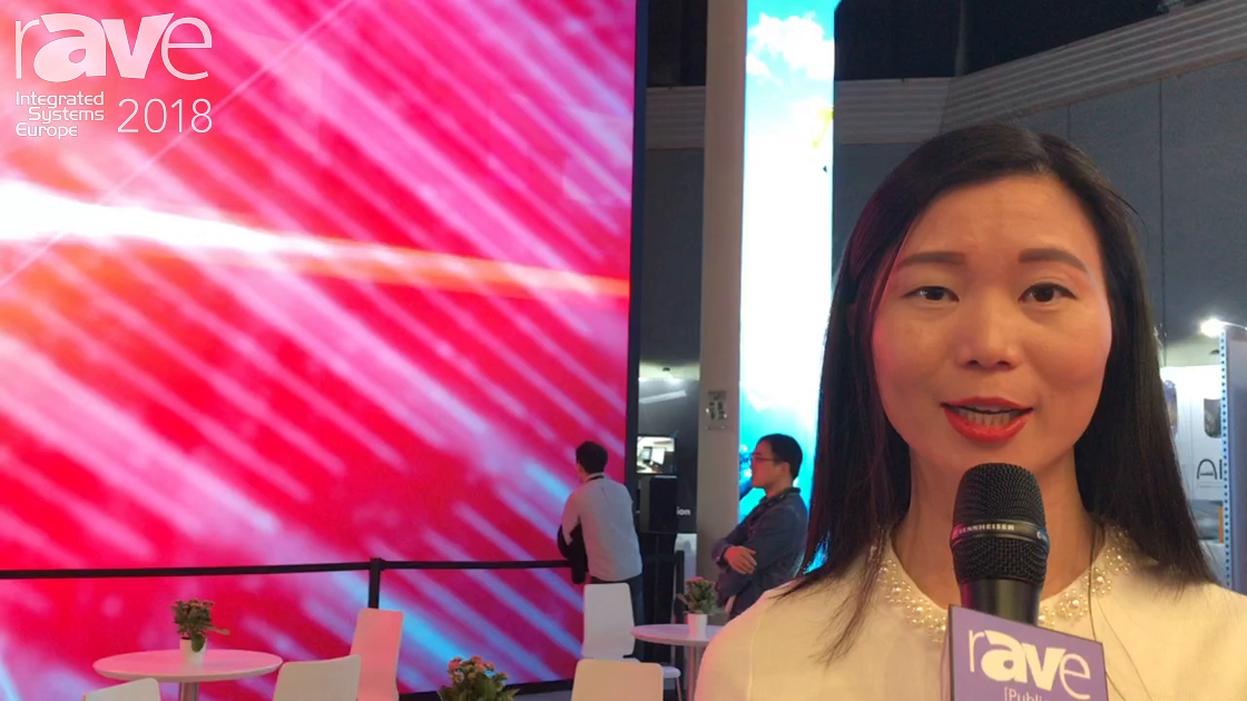 ISE 2018: AOTO Talks About 8K Resolution Fine Pixel-Pitch LEDs for Indoor Applications