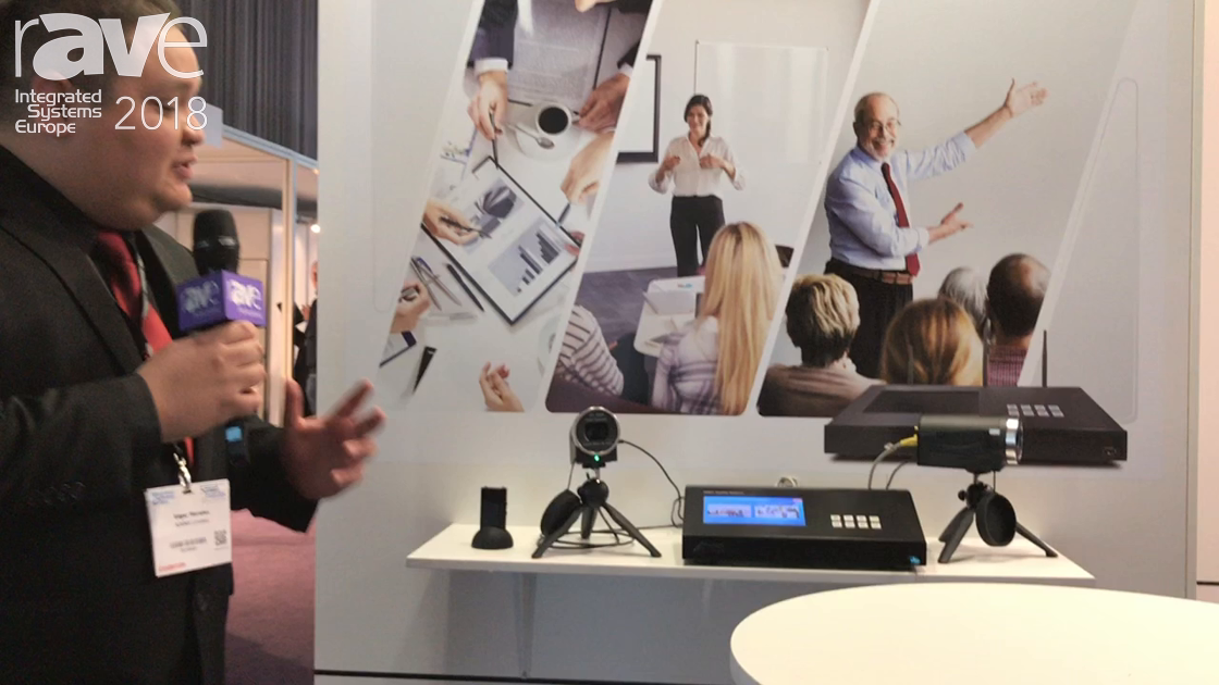 ISE 2018: Arec Launches a Media Capture Station for Recording and Streaming