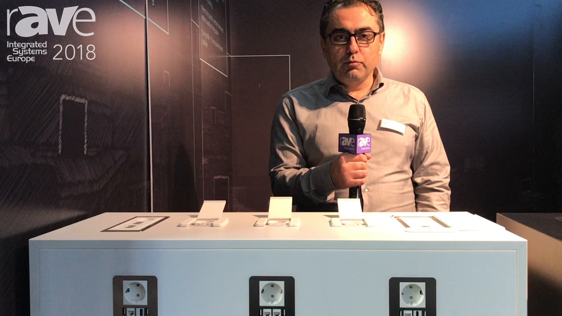 ISE 2018: Digi-tel doo Debuts a Line of Power Sockets to Retrofit in AV Furniture