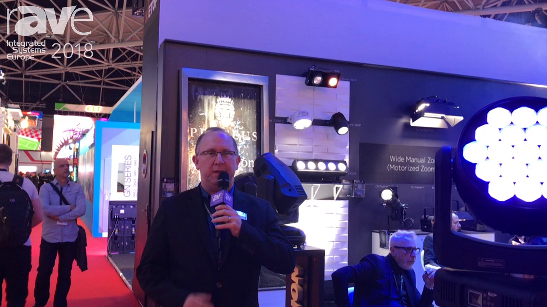 ISE 2018: Elation Professional Shows Off the Smarty Hybrid Luminaire
