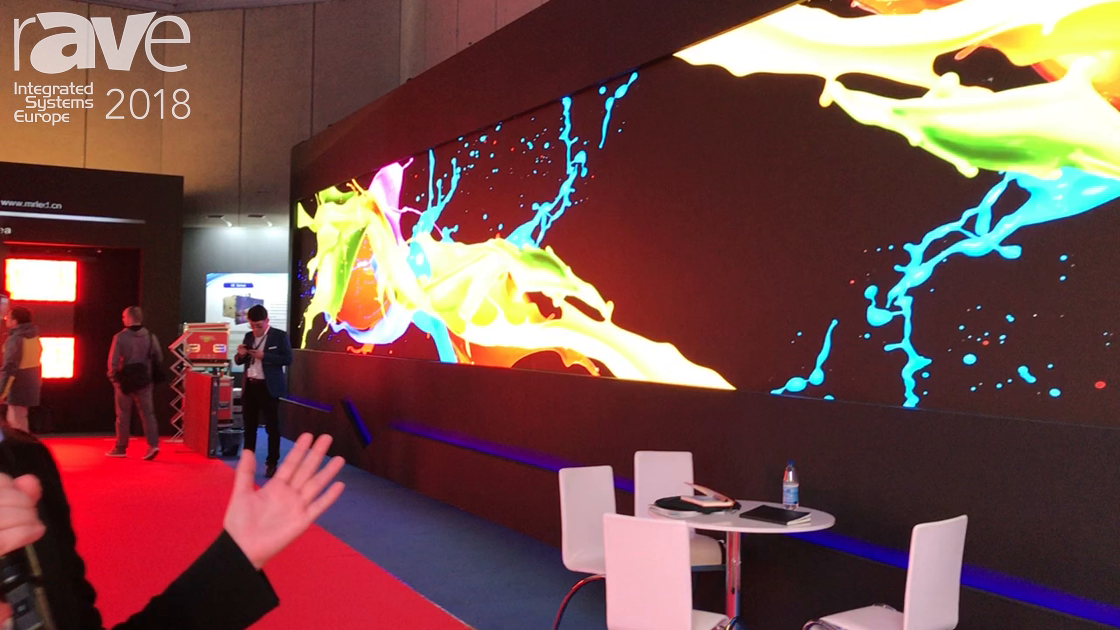 ISE 2018: Esdlumen Highlights Its 13K Resolution 1.5mm LED Wall System