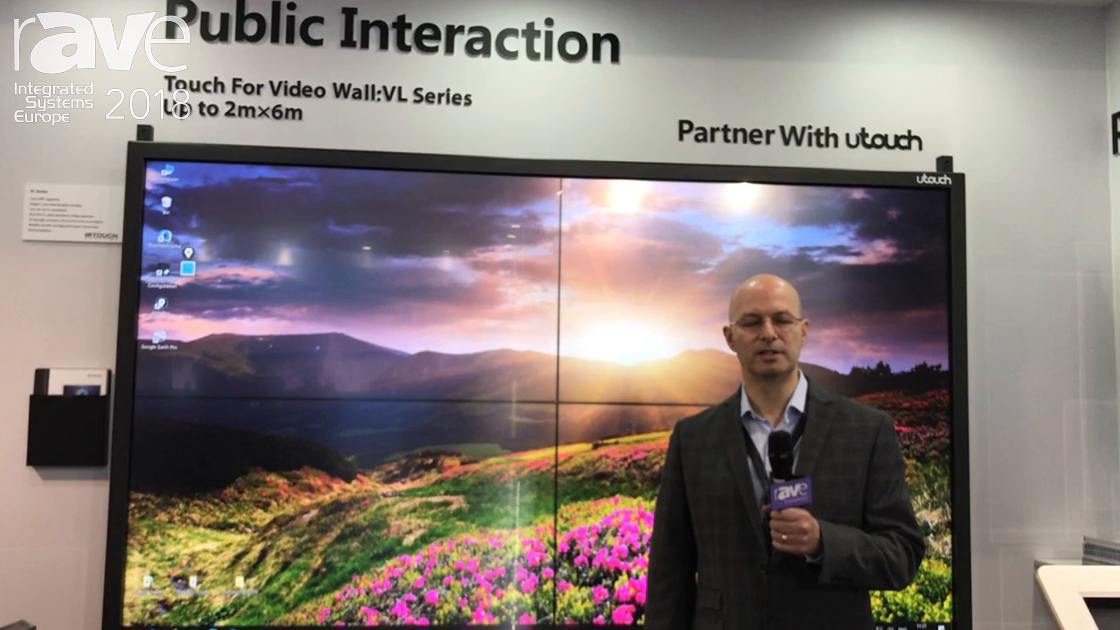 ISE 2018: IRTOUCH Systems Introduces a New Range of Interactive Video Walls