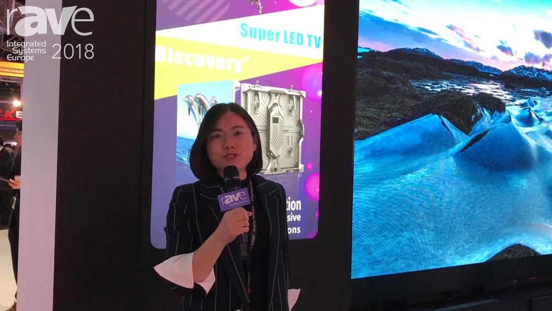 ISE 2018: LDDisplays Launches SuperLED TV Series of LED Displays