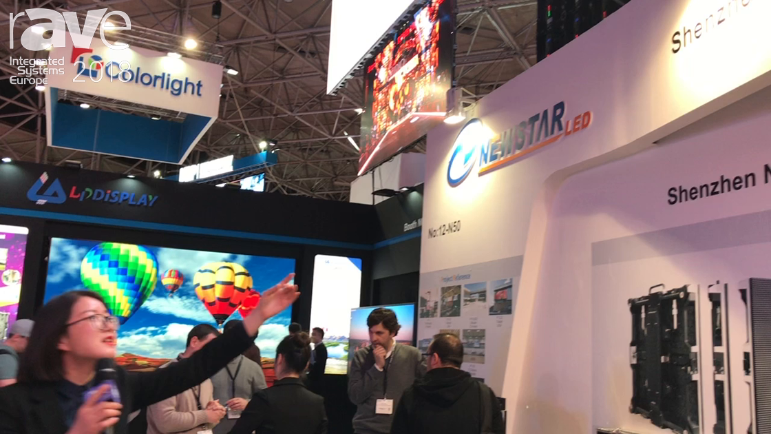 ISE 2018: Newstar LED Presents the Thunder Series of Rental LED Displays