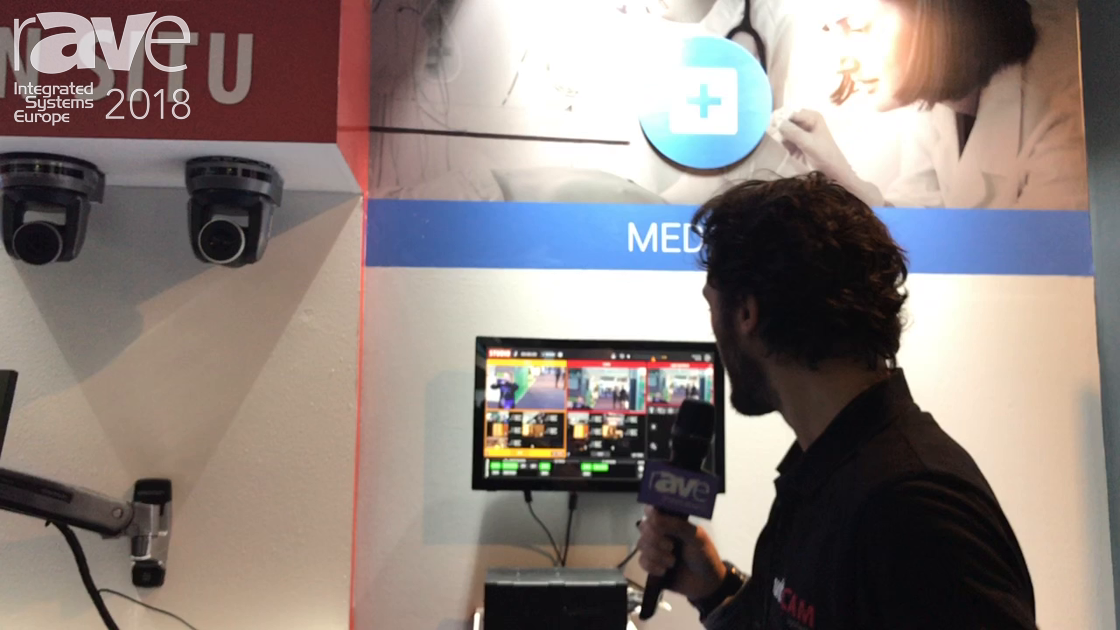 ISE 2018: multiCAM Systems Reveals MULTICAM IP BOX for Managing Four IP Cameras Over a Network