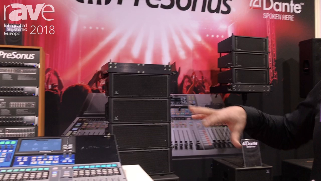 ISE 2018: PreSonus Shows Series 3 Mixer and Ecosystem