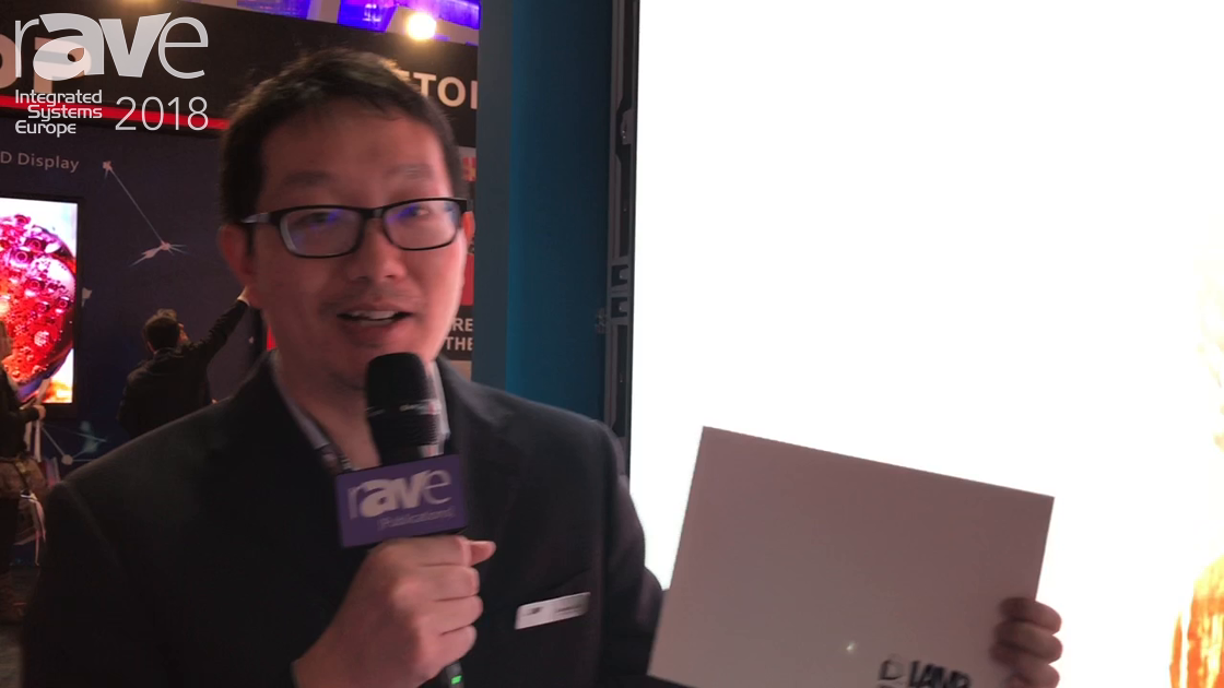 ISE 2018: Shenzhen Lamp Technology Features GN2.6 2.6mm Indoor LED Display