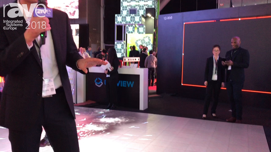 ISE 2018: Shenzhen Uniview Features an Interactive LED Floor