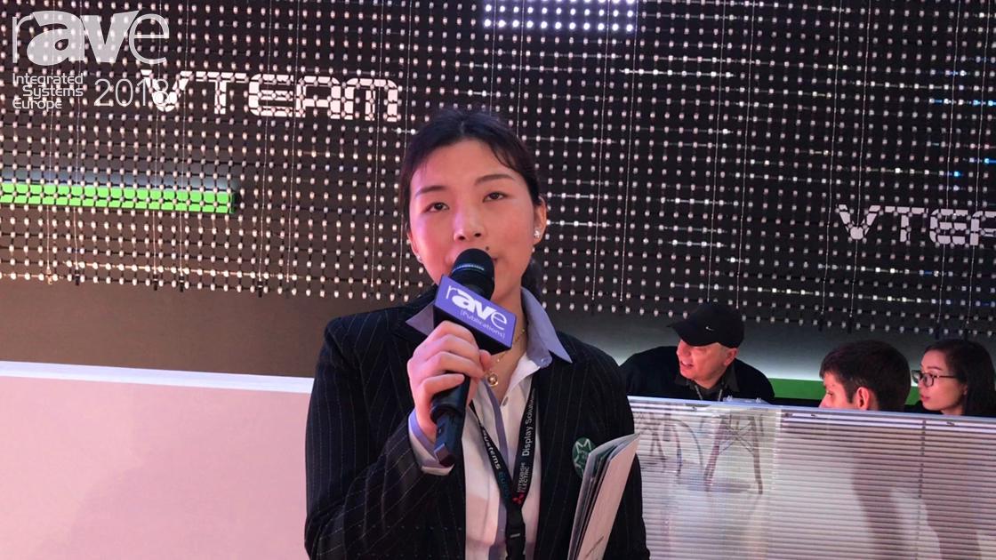 ISE 2018: VTEAM Demos Its Transparent LED Display
