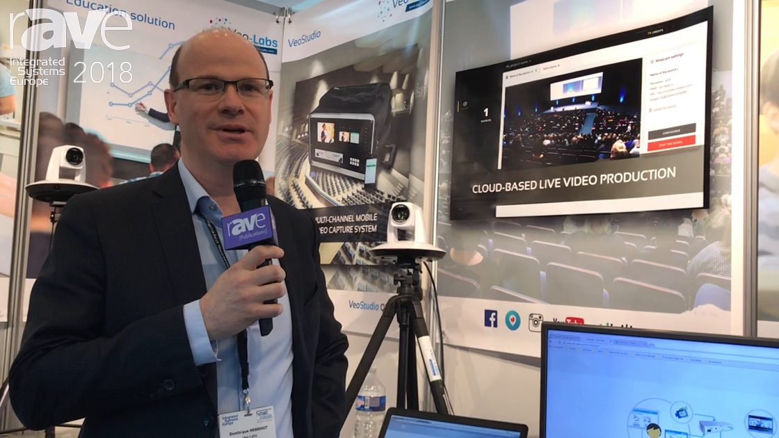 ISE 2018: Veo-Labs Explains OpenVeo IP-Based Real-Time Lecture Capture and Publishing Platform
