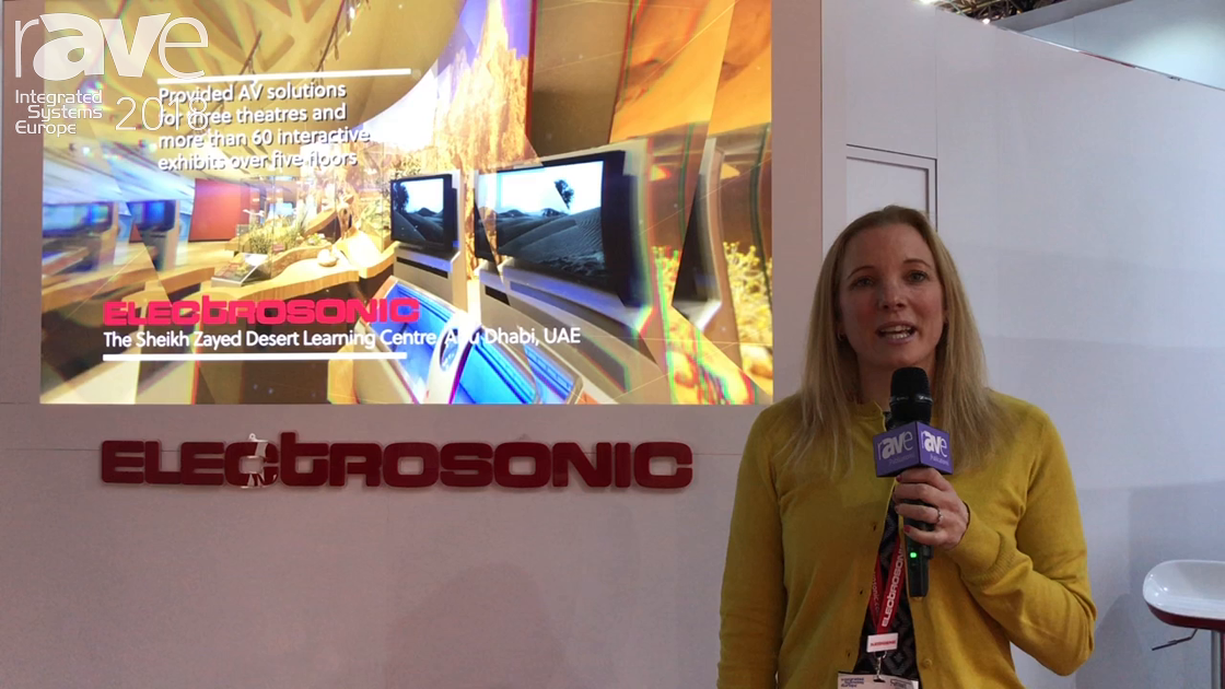 ISE 2018: Electrosonic Talks About Its Different AV Integration and Service Solutions