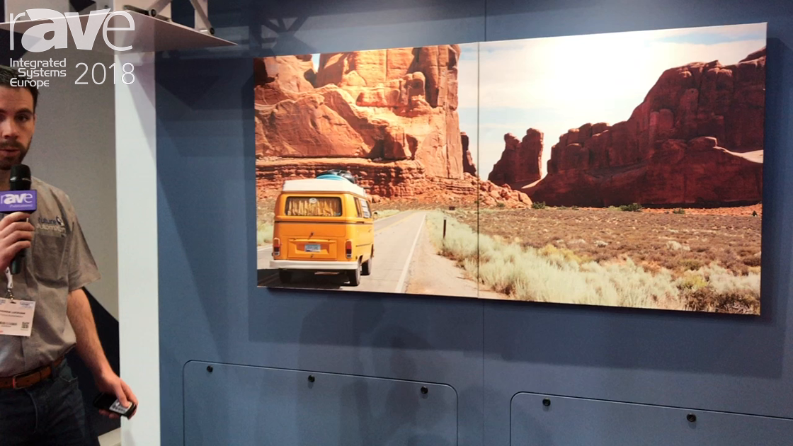 ISE 2018: Future Automation Shows Picture Split Mechanism and Electric Advance & Drop TV Wall Mount
