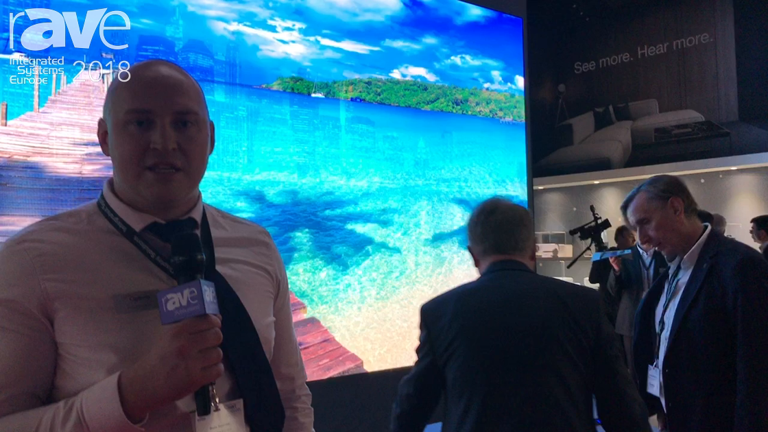 ISE 2018: Optoma Launches a New LED Video Wall Range of Displays in 1080p and 4K