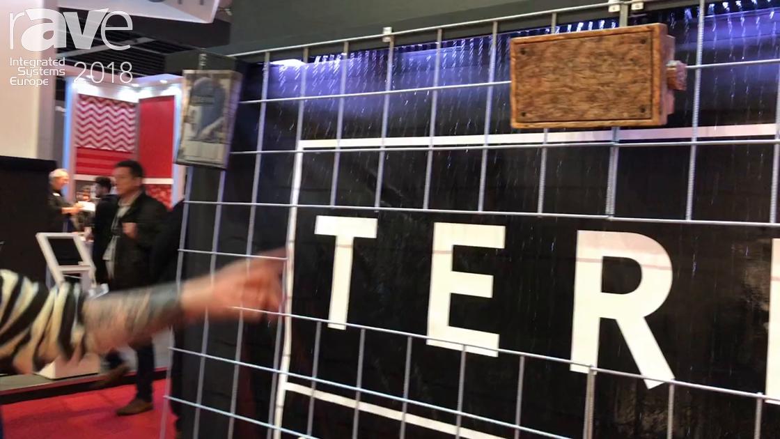 ISE 2018: Terra Speakers Talks About Its Custom Printed Speaker Cabinets and Speaker Grills
