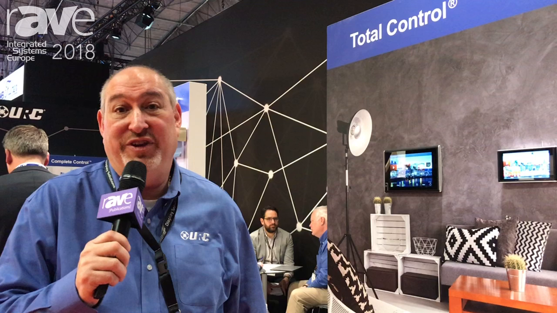 ISE 2018: Universal Remote Control Shows Improvements to Total Control System, New 2.0 Interface