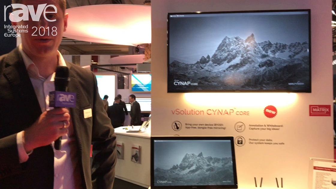 ISE 2018: WolfVision Launches vSolution Cynap Core for BYOD Solutions