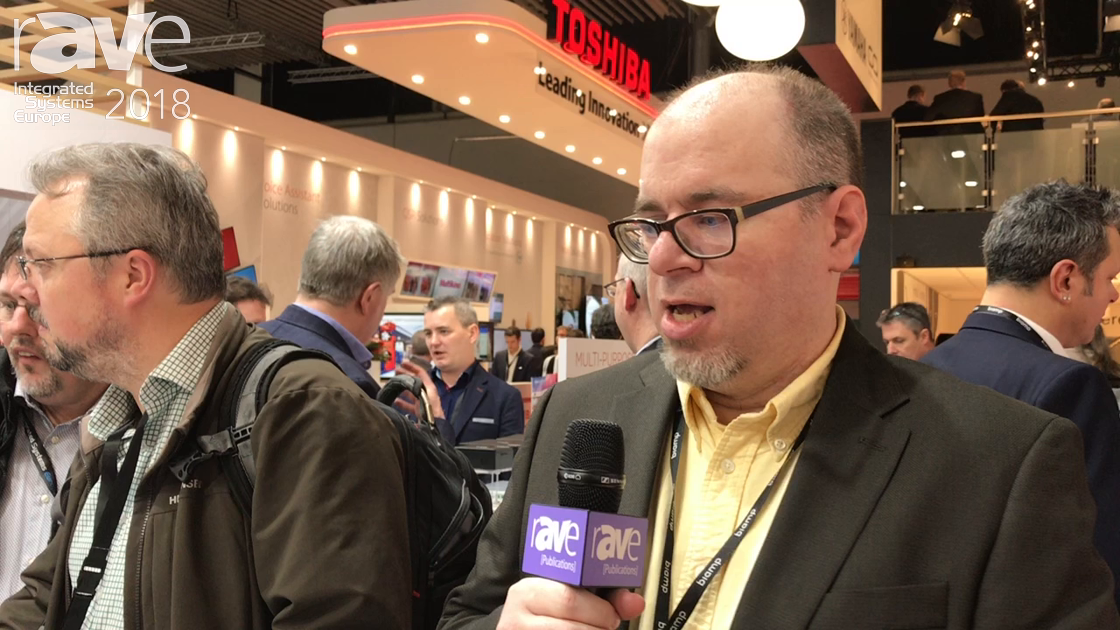 ISE 2018: Biamp Shows Off Tesira TCM Ceiling Microphones Series