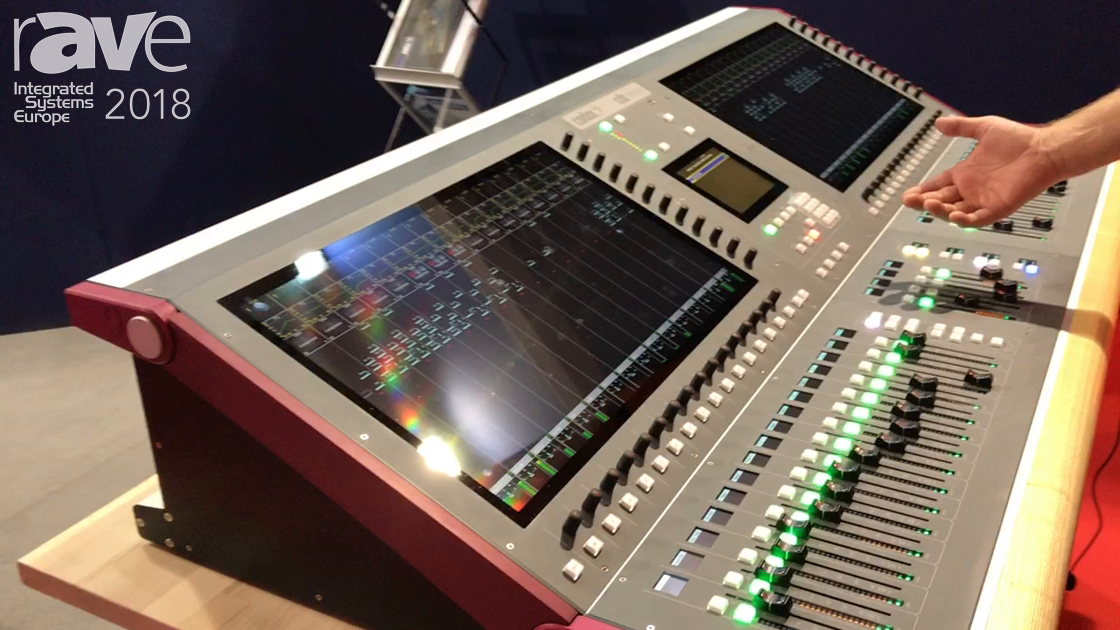 ISE 2018: CADAC Reveals CDCseven Audio Console for Live Sound Mixing