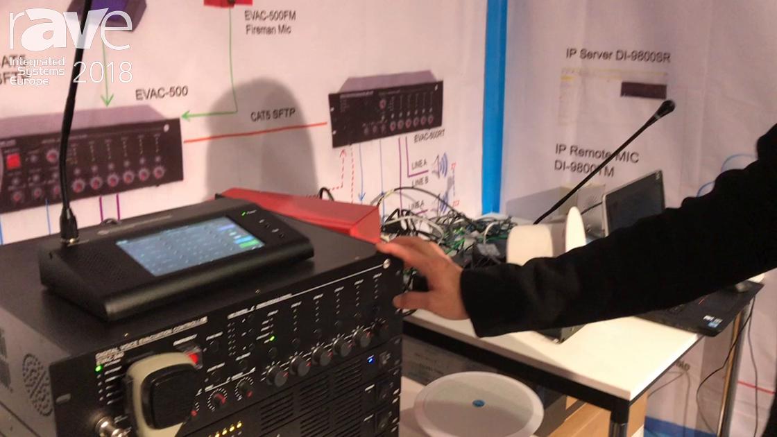 ISE 2018: Guangzhou CMX Audio Debuts the EVAC-4 Digital Voice Evacuation Controller