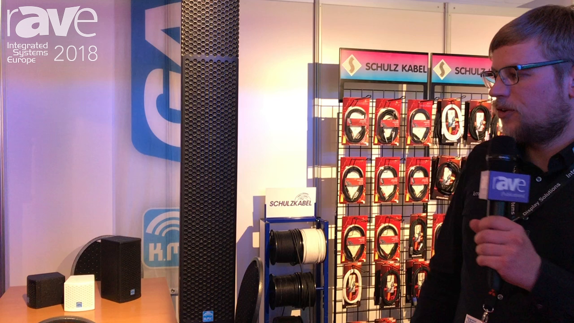 ISE 2018: KME Presents a Column Speaker System Solution