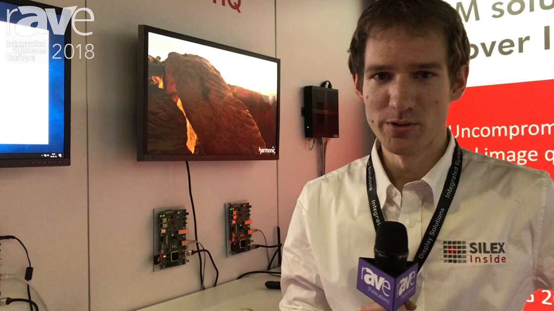 ISE 2018: Silex Inside Talks About Its JPEG 2000 AV-over-IP Solution
