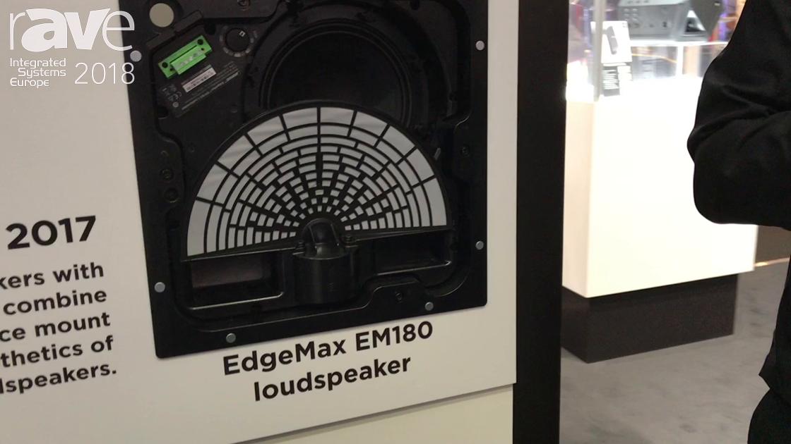 ISE 2018: Bose Professional Debuts EdgeMax EM180 Loudspeaker for Ceiling Use