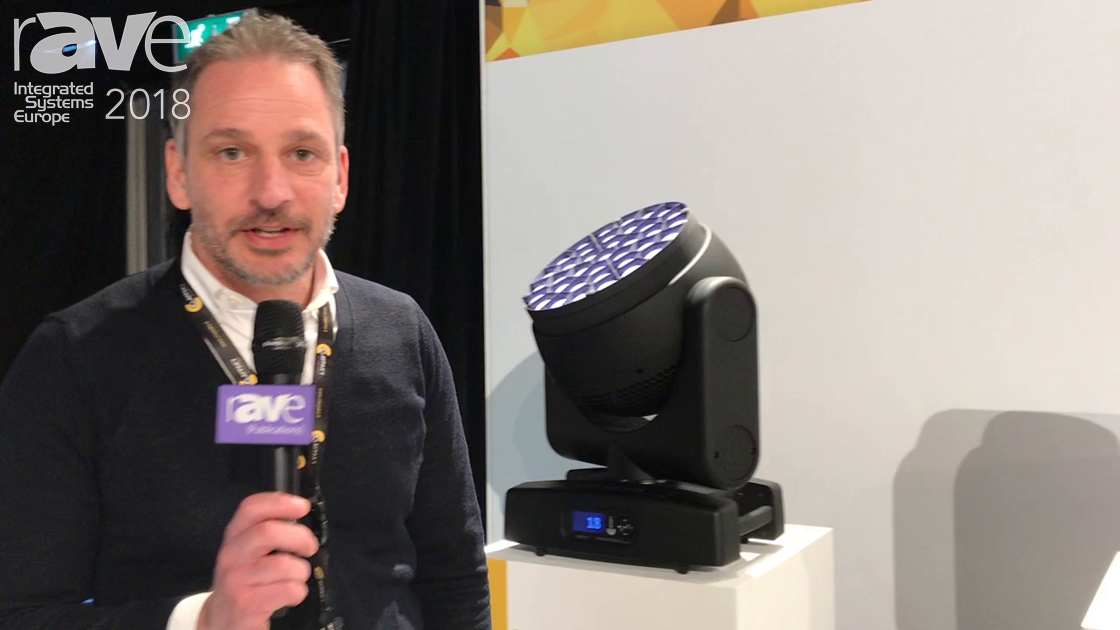 ISE 2018: Clay Paky Shows Off HCR LED Washlight Range