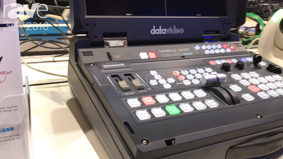 ISE 2018: Datavideo Presents HS-1600T Switcher with HDBaseT
