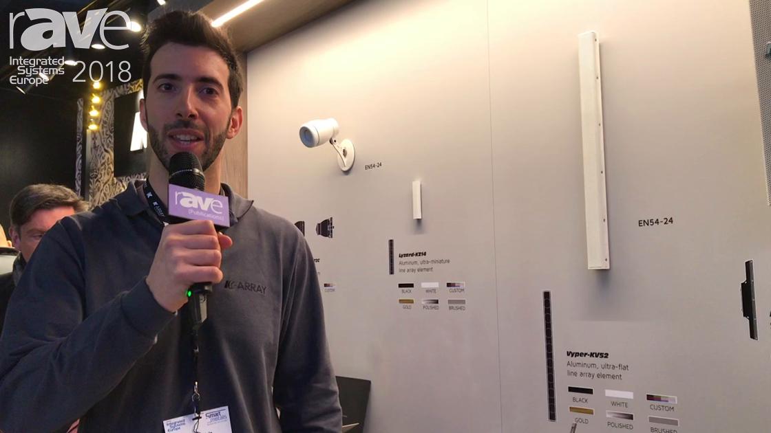 ISE 2018: K-array Reveals Capture-KMC20V/KMC20H Microphone