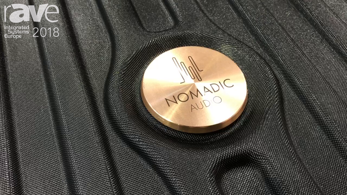 ISE 2018: Morel Introduces Nomadic Audio Speaker Suitcase