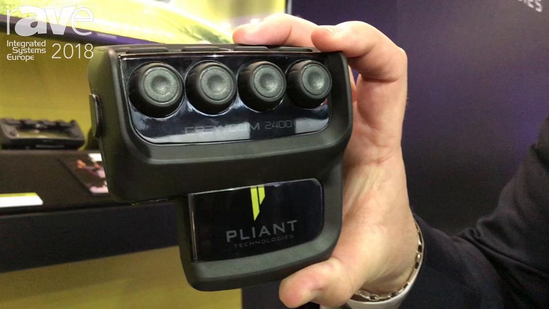 ISE 2018: Pliant Technologies Presents Crewcom 2400 for Intercom Usage