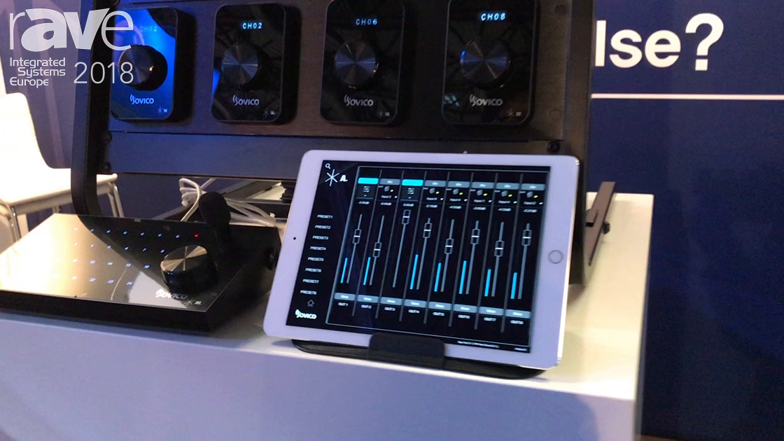 ISE 2018: Sovico Professional Exhibits Matrix Audio Mix System