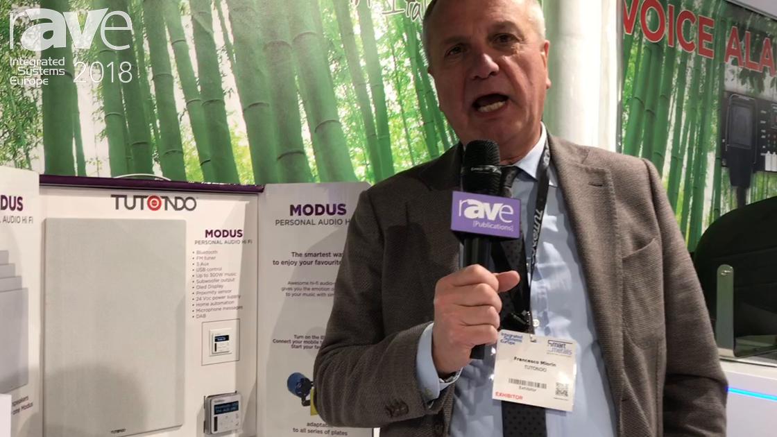 ISE 2018: Tutondo Reveals Modus Audio Control Unit for Music