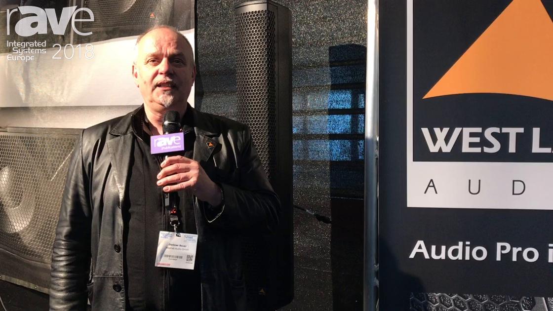 ISE 2018: West Lab Audio Reveals Lapstreak Column Speaker